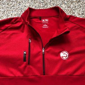 NEW Atlanta Hawks 1/4 sweater XL Adidas Golf